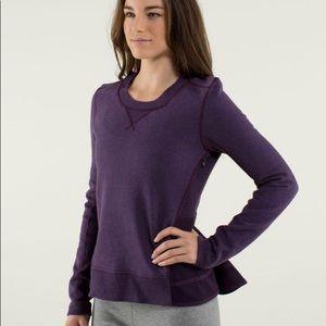 RARE Lululemon Ruffled Up Pullover size 6?